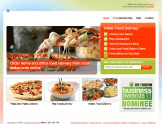 hungryandlazy.com.au screenshot