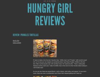 hungrygirlreviews.wordpress.com screenshot