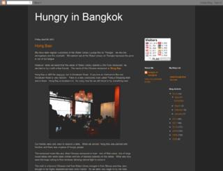 hungryinbangkok.blogspot.com screenshot