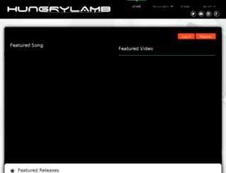 hungrylamb.com screenshot