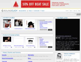 hunnidbeatz.com screenshot