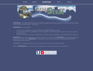 hunstem.uhd.edu screenshot