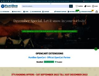 huntbee.com screenshot