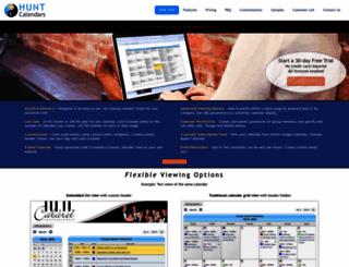huntcal.com screenshot