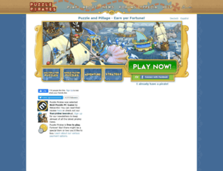 hunter.puzzlepirates.com screenshot