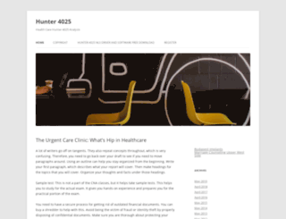 hunter4025.com screenshot