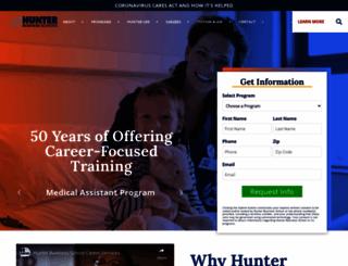 hunterbusinessschool.edu screenshot
