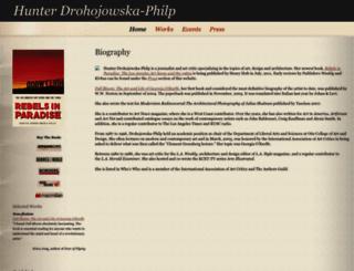 hunterdphilp.com screenshot