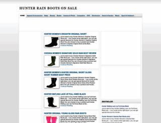 hunterrainboots12.blogspot.com screenshot