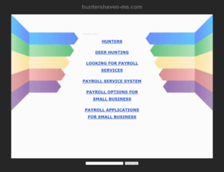 huntershaven-ms.com screenshot