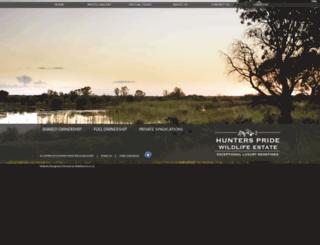 hunterspride.co.za screenshot