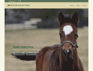 huntervalleyfarmky.com screenshot