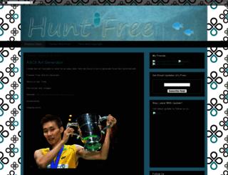 huntfree.com screenshot