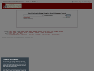 huntingdoncollege.worldcat.org screenshot