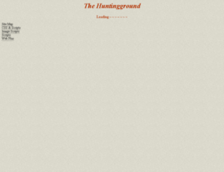 huntingground.freeserve.co.uk screenshot