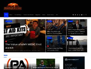 huntinglife.com screenshot