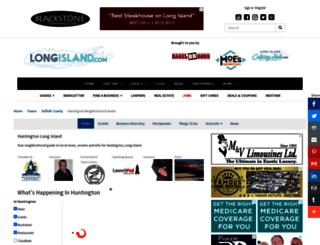 huntington.longisland.com screenshot
