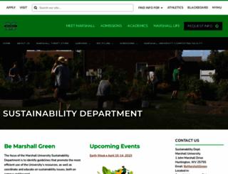 huntingtonsustainabilityfair.com screenshot