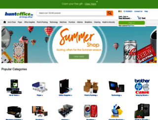 huntoffice.ie screenshot