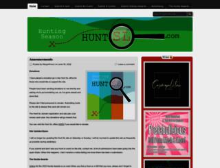 huntsl.wordpress.com screenshot
