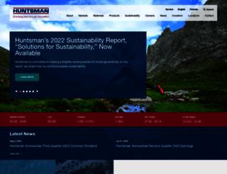 huntsman.com screenshot