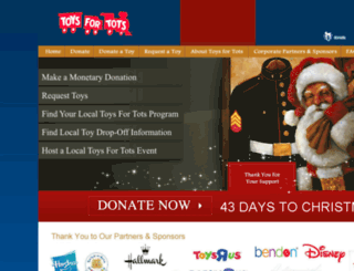 huntsville-al.toysfortots.org screenshot