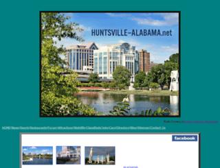 huntsville-alabama.net screenshot