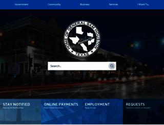 huntsvilletx.gov screenshot