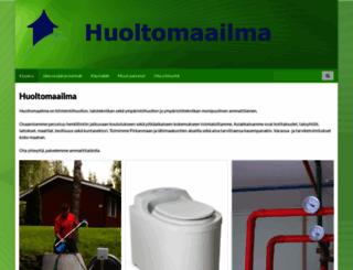 huoltomaailma.fi screenshot