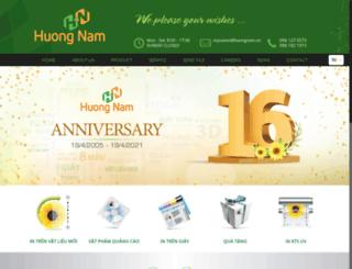 huongnamads.vn screenshot