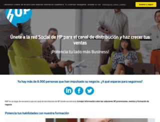 hup.com.es screenshot