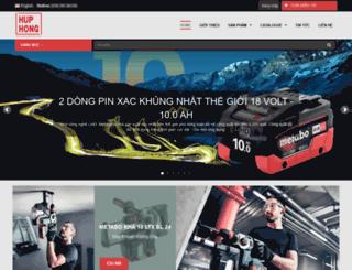 huphong.com.vn screenshot