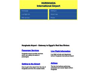 hurghada-airport.co.uk screenshot