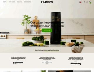 hurom.com screenshot