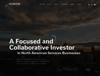 huroncapital.com screenshot
