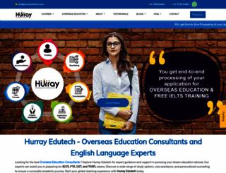hurrayedutech.com screenshot