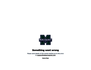 hurstathletics.com screenshot