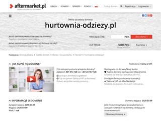 hurtownia-odziezy.pl screenshot
