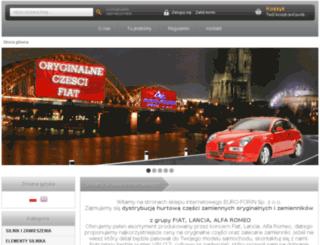 hurtownia.euroforin.eu screenshot