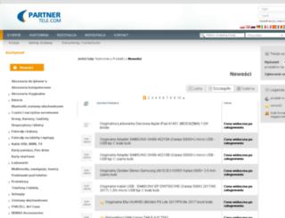 hurtownia.partnertelekom.pl screenshot