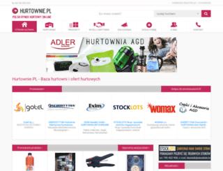 hurtownie.pl screenshot