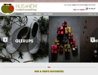 husandhem.co.uk screenshot