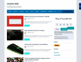 huseinweb.blogspot.com screenshot
