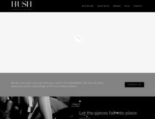 hush.com.au screenshot