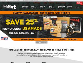 hushmat.com screenshot