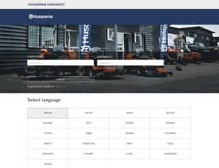 husqvarnauniversity.com screenshot