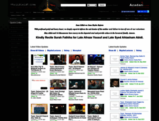 hussainiat.com screenshot