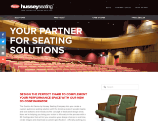 husseyseating.com screenshot