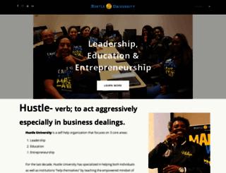hustleuniversity.org screenshot