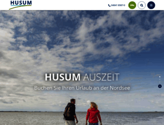 husum-tourismus.de screenshot